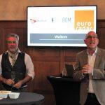 Frank Barink en Han Beukers lanceren BlindGuide app