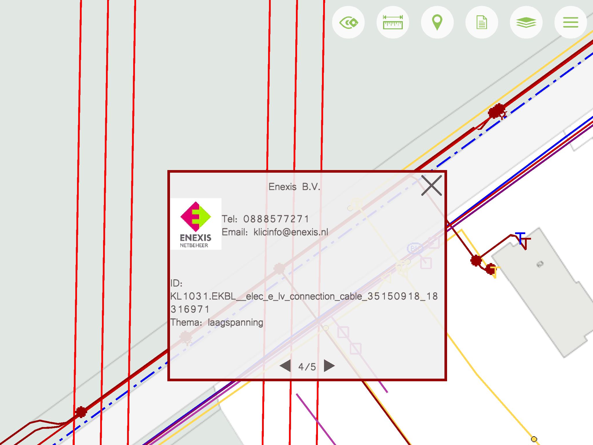BlindGuide KLIC identifier